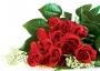 Бумажный пакет  розы MEGA-007