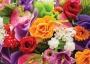 Бумажный пакет цветы MEGA-009