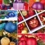 Пакет новый год квадрат NGKV-012